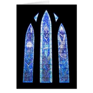 Glasgow-Kathedralenkirchenfenster Karte