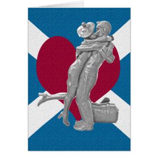 Glasgow-Liebhaber-Kuss-Karte Karte