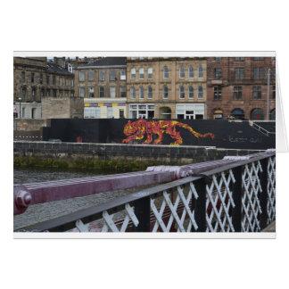 Glasgow-Tiger Karte