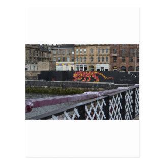 Glasgow-Tiger Postkarte