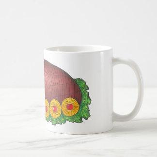 Glasig-glänzende Kaffeetasse