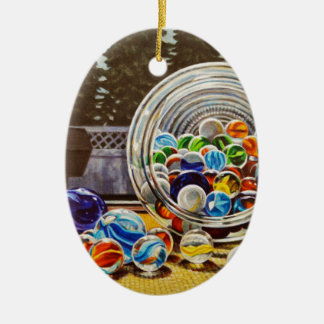 Glasmarmore Keramik Ornament