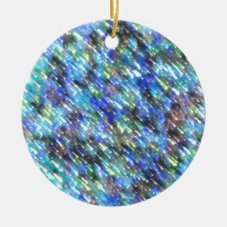 Glasperlen Keramik Ornament