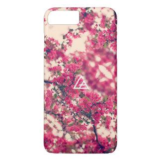 Glaspfeil-Blüten-Telefon-Kasten iPhone 8 Plus/7 Plus Hülle