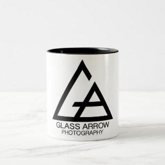 Glaspfeil-Fotografie-Tasse Zweifarbige Tasse