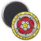 GlasRose Runder Magnet 5,7 Cm