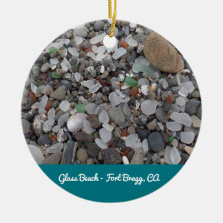 Glasverzierung strand-Fort Bragg Kalifornien Keramik Ornament