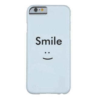 Glatt, stilvoll, bilden Sie die Installation, Barely There iPhone 6 Hülle