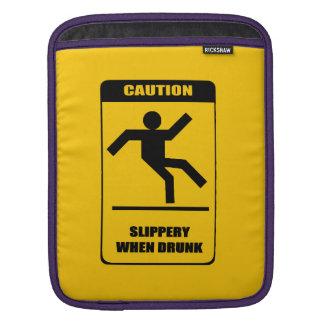 Glatt, wenn betrunken sleeve für iPads