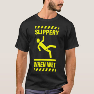 Glatt, wenn naß T-Shirt