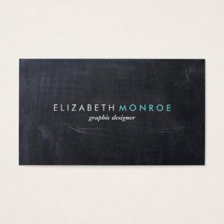 Glatte einfache moderne Tafel Visitenkarten
