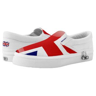 Glatte Flagge Vereinigten Königreichs Slip-On Sneaker