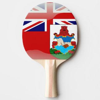 Glatte Flagge von den Bermudas Tischtennis Schläger
