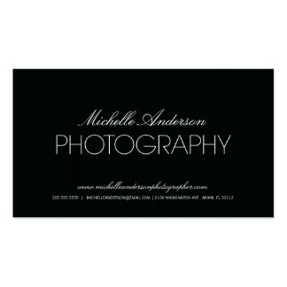 GLATTE FOTOGRAFIE-VISITENKARTE DES FOTOGRAF- PIPE