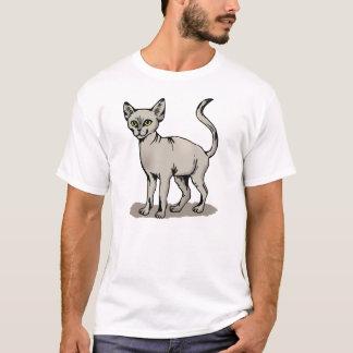 Glatte Katze T-Shirt