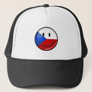 Glatte Runden-lächelnder tschechischer Truckerkappe