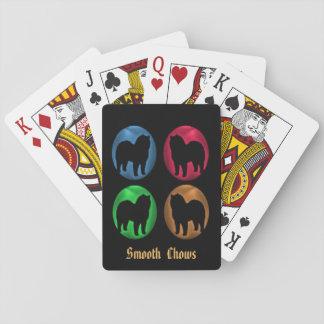 Glatter Chow-Chow Spielkarten