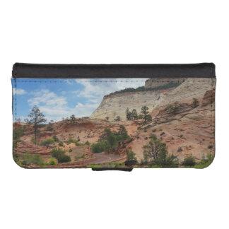 Glatter Felsen Zion Nationalpark Utah iPhone SE/5/5s Geldbeutel