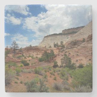 Glatter Felsen Zion Nationalpark Utah Steinuntersetzer