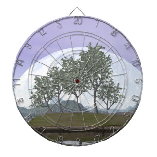 Glatter leaved Ulmenbonsaisbaum - 3D übertragen Dartscheibe