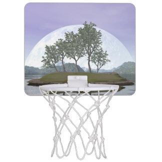 Glatter leaved Ulmenbonsaisbaum - 3D übertragen Mini Basketball Netz