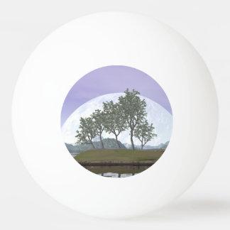 Glatter leaved Ulmenbonsaisbaum - 3D übertragen Ping-Pong Ball