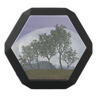 Glatter leaved Ulmenbonsaisbaum - 3D übertragen Schwarze Bluetooth Lautsprecher