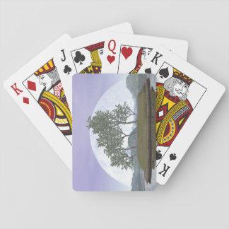 Glatter leaved Ulmenbonsaisbaum - 3D übertragen Spielkarten