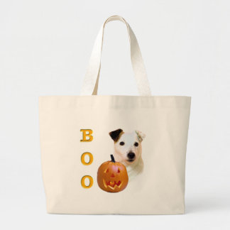 Glatter Mantel-Pastor-Russell Terrier Halloween Jumbo Stoffbeutel