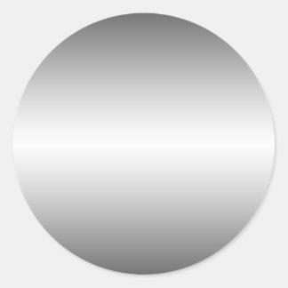Glatter Metallblick-Aufkleber