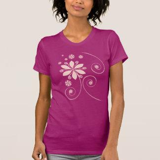 glatter netter T - Shirt für Damen
