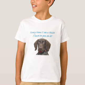 Glattes Graubärpipi auf BUSH T-Shirt