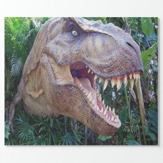 Glattes Packpapier des Dinosauriers für Kinder