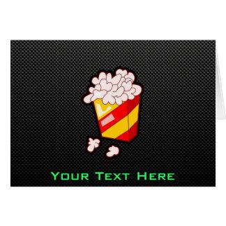 Glattes Popcorn Karte