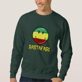 Glattes rundes glückliches Rasta Flaggen-Shirt Sweatshirt