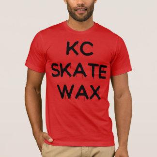 glattes T-Stück des kc-Skatewachses T-Shirt