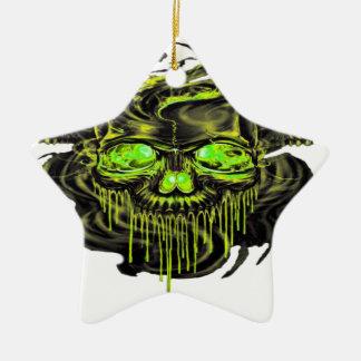 Glattes Yella Skelette png Keramik Ornament