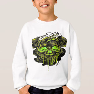 Glattes Yella Skelette png Sweatshirt