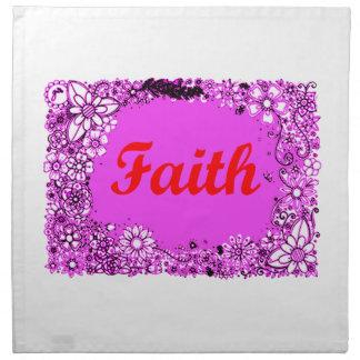 Glaube 3 serviette