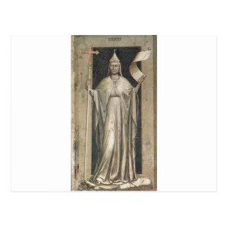 Glaube durch Giotto Postkarte