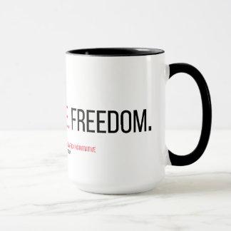 Glaube. Gerechtigkeit. Freiheit. 15 Unze. Tasse