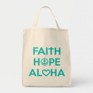 Glaube, Hoffnung, Aloha Tasche