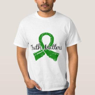 Glaube ist 5 psychische Gesundheiten von Bedeutung T-Shirts