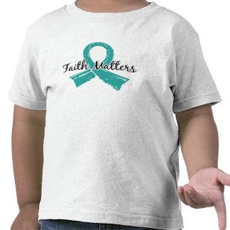 Glaube ist peritonealer Krebs 5 von Bedeutung Hemden