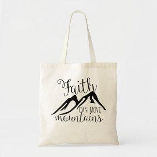 Glaube kann Berge bewegen Tragetasche