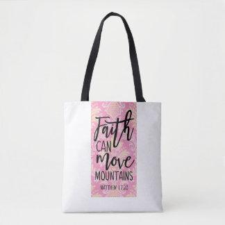 Glaube kann Gebirgsmatthew-17:20 Taschen-Tasche Tasche