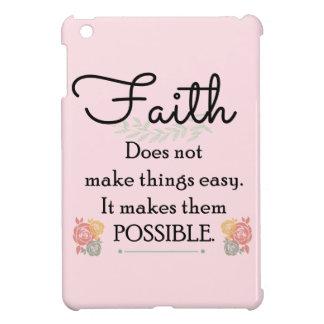 Glaube macht Sachen nicht einfache, christliche iPad Mini Hülle