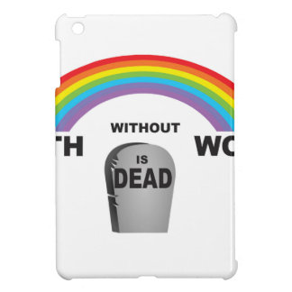 Glaube ohne Arbeiten iPad Mini Hüllen