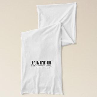 Glaube Schal