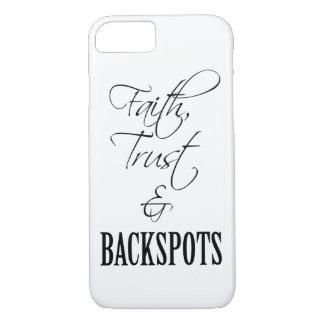 Glaube, Vertrauen und Backspots Beifall iPhone 7 iPhone 8/7 Hülle